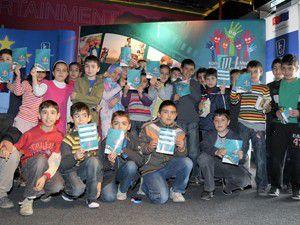 İlköğretim öğrencileri sinemada buluştu