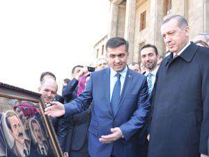 Meram heyeti Başbakan Erdoğanı ziyaret etti