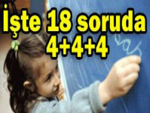 Eğitimciler 4+4+4ü araştırdı