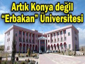 Resmen Erbakan Üniversitesi