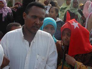 Somalilerden açlık eylemi