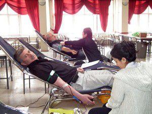 Akşehirde 5 günde 230 ünite kan bağışlandı
