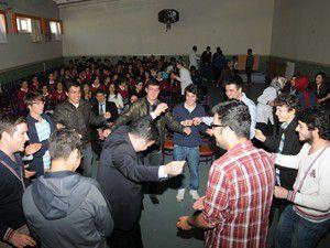 Ekolden YGS öğrencilerine moral