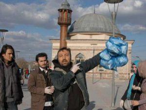 Konyada fuhuş protestosu