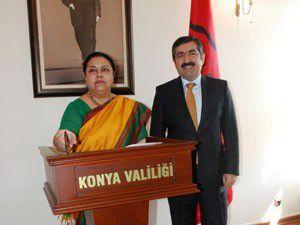 Hindistan Büyükelçisi Vali Doğanı ziyaret etti
