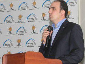 Altay Beyşehirde siyaset akademisine katıldı