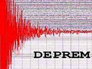 Denizlide 4.3 şiddetinde deprem