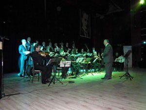 Konya Barosundan Akşehirde konser