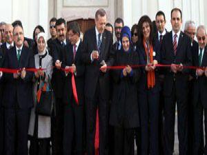 Erdoğan, Selçuklunun binasını açtı