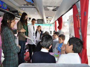 Alman eğitimciler Konyada öğrencilerle buluştu