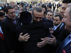 Erdoğan Uygur Türkleriyle buluştu