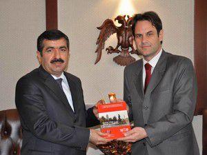 Makedonya Büyükelçisi Vali Doğanı ziyaret etti