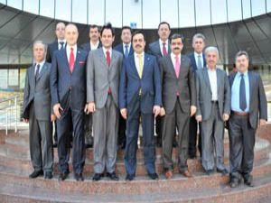 Makedonya Büyükelçisi KTOya ziyaret etti