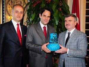 Makedonya Büyükelçisinden Büyükşehire ziyaret