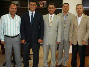 Konyaspor yönetimi Karatayda