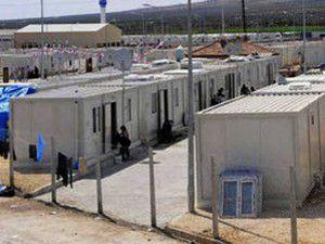 Suriyeden konteyner kente taciz ateşi