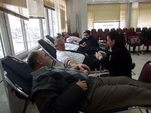 Karapınar polisinden kan bağışı