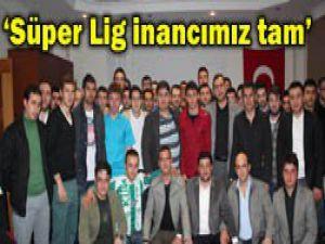 Genç MÜSİADdan Konyaspora destek