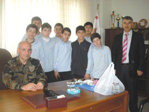 M.Aymazlı öğrencilerden polis teşkilatına ziyaret