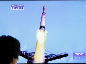 Kuzey Korenin gizemli roketi denize düştü