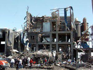 Tekstil fabrikasında patlama 4 ölü, 9 yaralı
