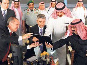 Erdoğan Abdullah ile Suriyeyi görüştü