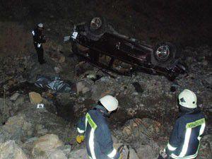 Konyada feci kaza; 2 ölü 1 yaralı