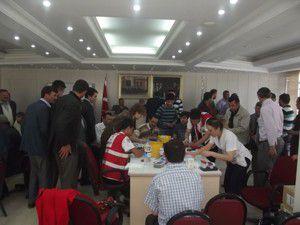 Karapınarda 340 ünite kan bağışı