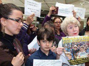 İsrail aktivistleri kabul etmedi