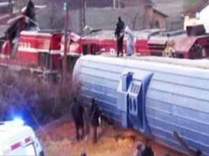 Niğdede tren kazası