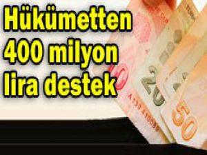 BES için 400 milyon lira