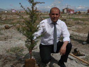 Konya Şeker ağaçlandırma çalışmalarını sürdürüyor