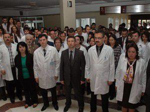 Konyada doktorlara şiddet kınandı