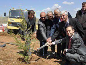 Yol-İş Hatıra Ormanı oluşturuldu