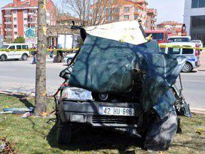 1 kişinin öldüğü kazada mucize gerçekleşti