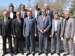 Beyşehir heyetinden Pankobirlike ziyaret