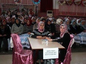 Beyşehirde Kız Kuran Kursları yarıştı
