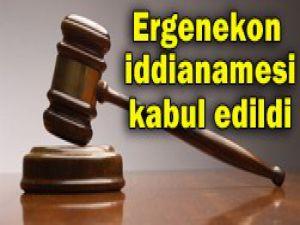 Ergenekon iddianamesi kabul edildi