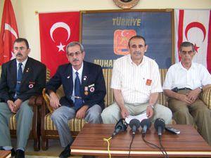 Konyalı gaziler Kıbrısı unutmadı