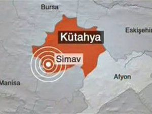 Simavda 4.9luk deprem