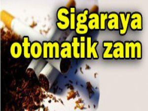 Sigaraya otomatik zam
