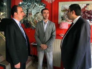 Başkan Altay vatandaşla bir araya geldi