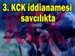 KCK 3. iddianamesi savcılıkta