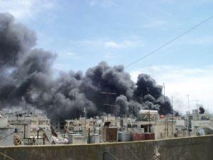 Reuters: Suriyede büyük bir patlama oldu
