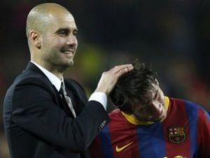 Messiden Guardiola için duygusal sözler