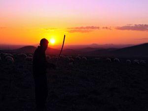 Konyadan günbatımı manzaraları