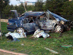 Konyada trafik kazası: 2 ölü, 4 yaralı