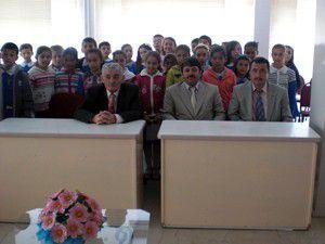 Öğrenciler, başkan Mugayıtoğlunu ziyaret etti
