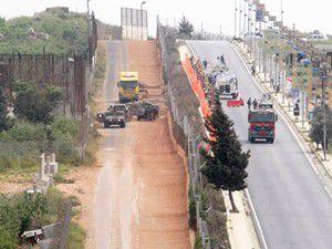 İsrailden bölgeye bir duvar daha