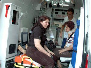 Tatil yolunda kaza: 6 yaralı